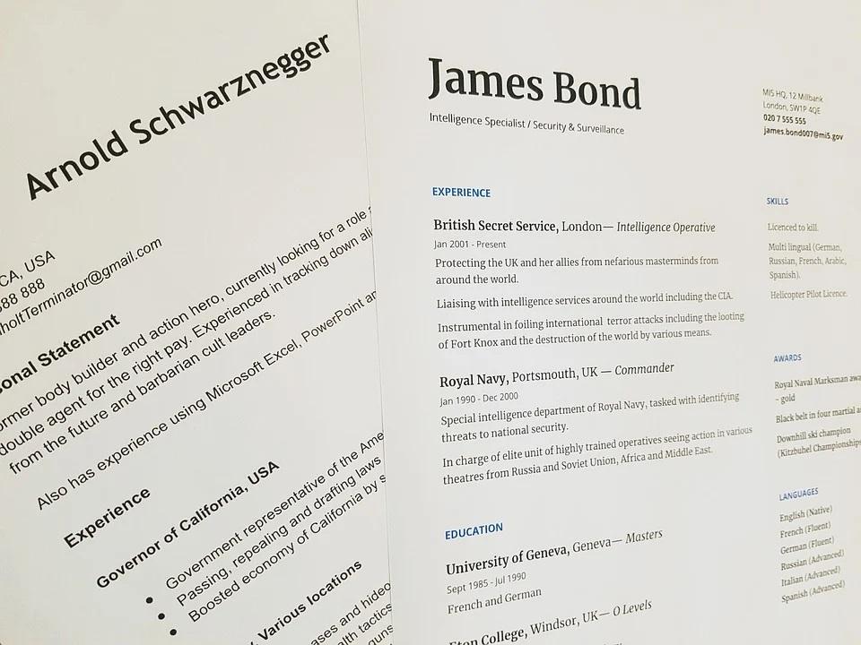 Mini guide sur la création d'un CV en ligne